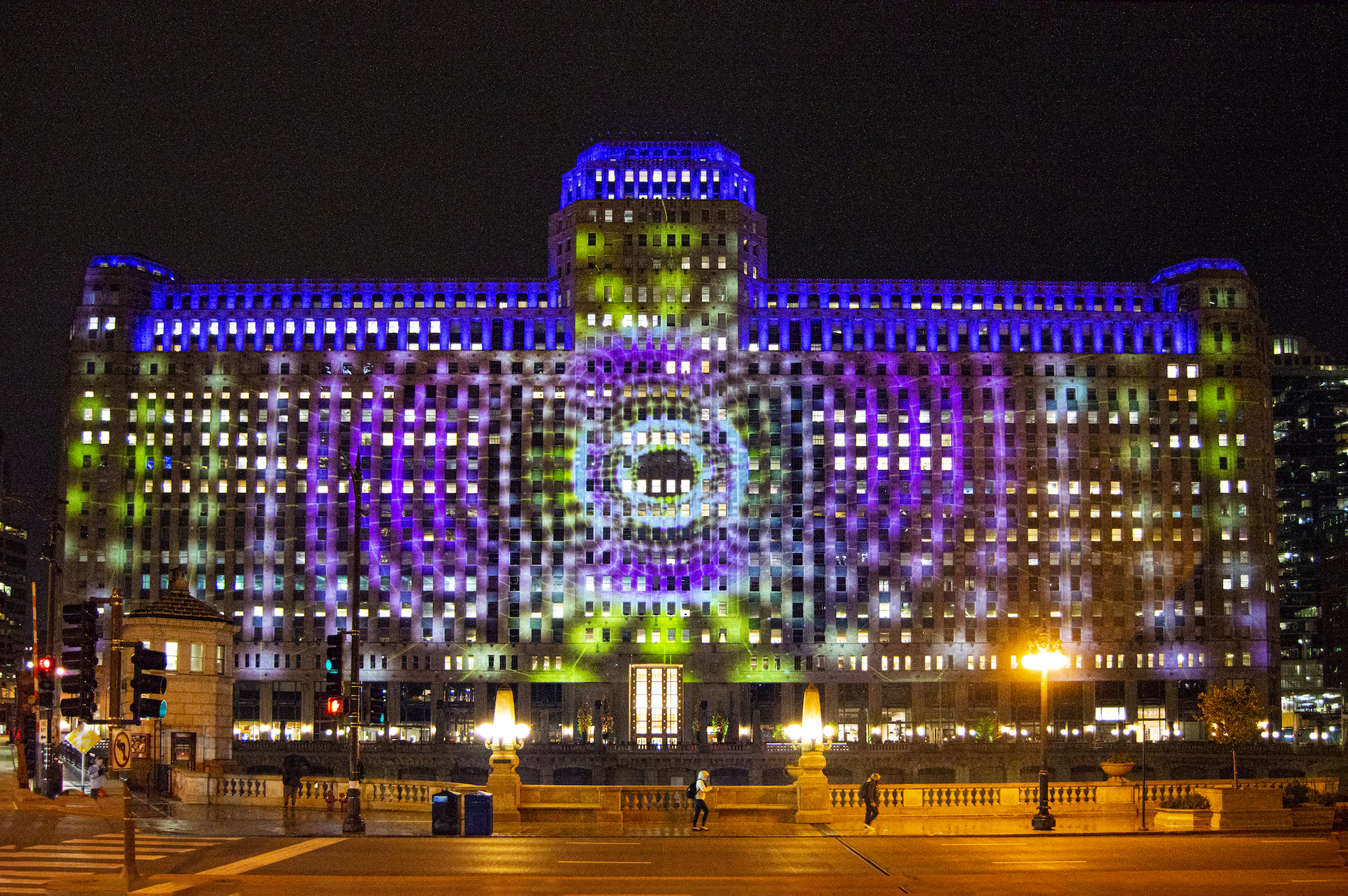 The Adler Planetarium  Astrographics  16. Photography courtesy of Art on theMART
