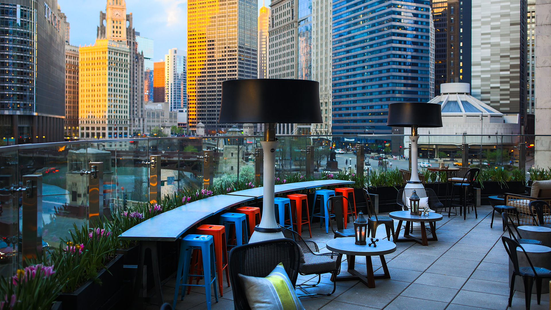 Raised at Renaissance Chicago Downtown Hotel