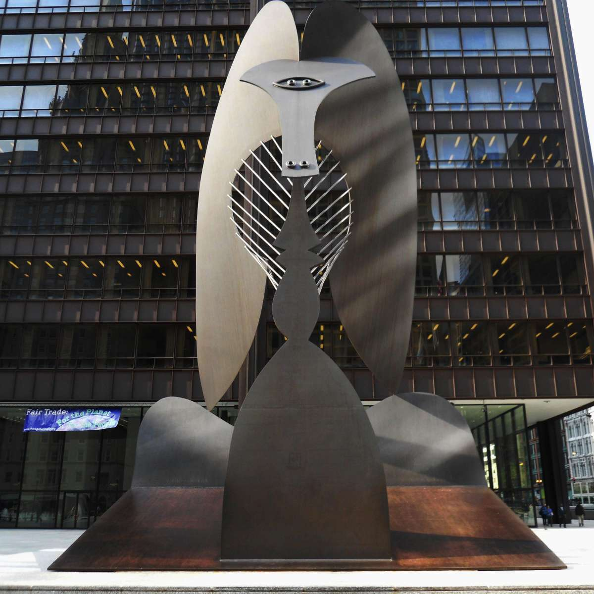 Image result for picasso sculpture chicago